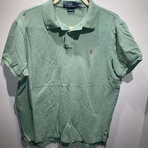 Polo Ralph Lauren green shirt large